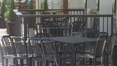 Restaurant empty chairs and empty tables.jpeg