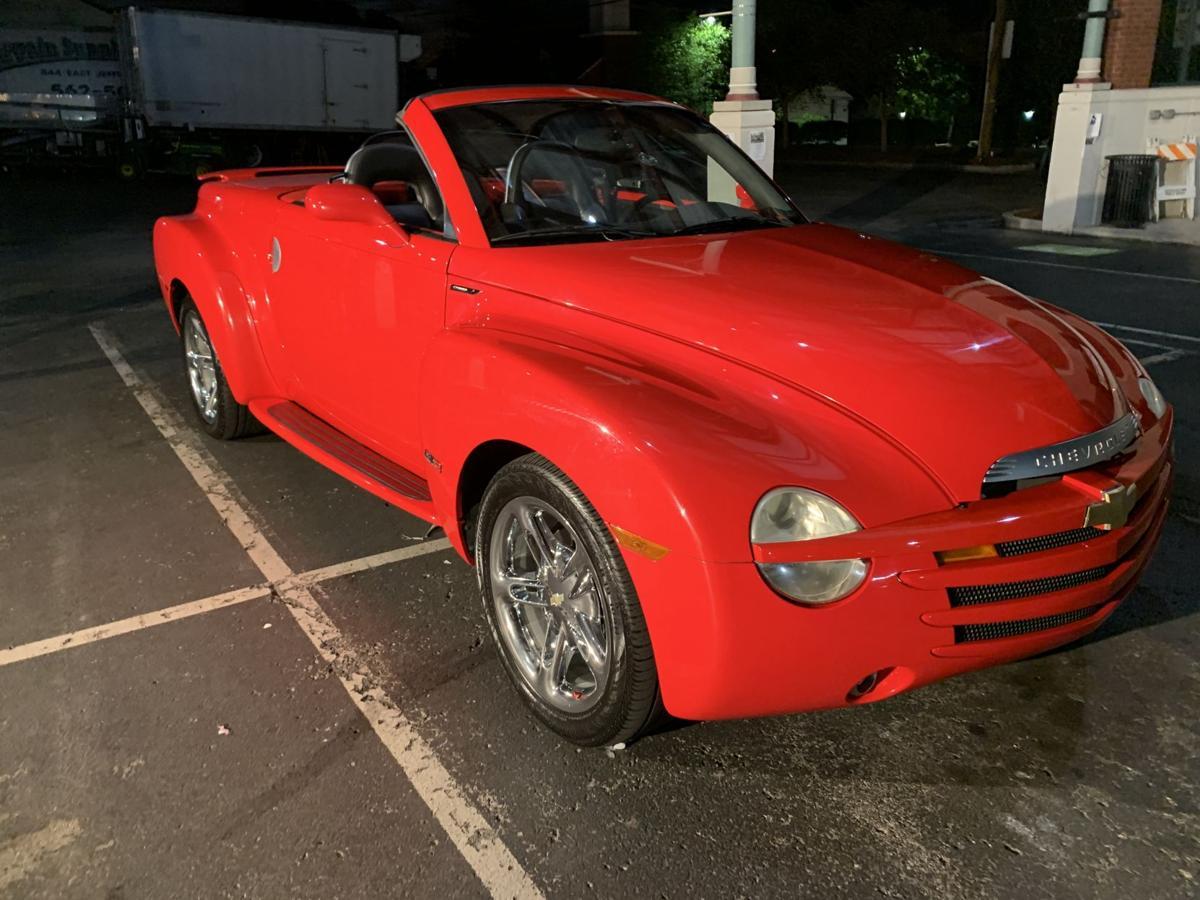 Gaslight Festival 2019 - Vintage Red Car.jpg