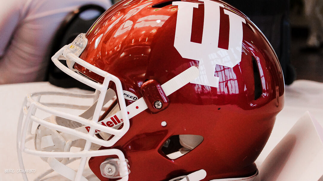 Indiana football helmet