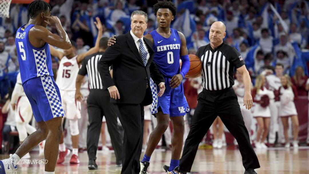 CRAWFORD | Calipari: Confusion, not calculation, led to ejection at Arkansas