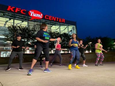 Keith Kaiser Zumba Yum! Center Fitness class 6-4-19