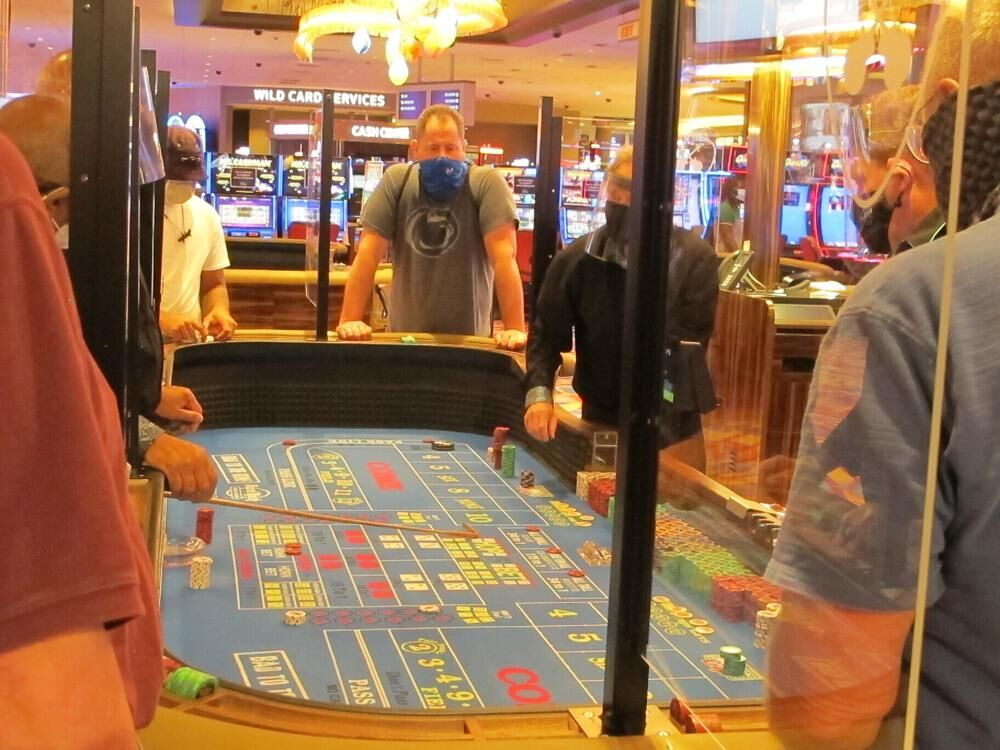 Hard Rock Casino gamblers