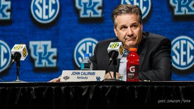 John Calipari SEC press conference