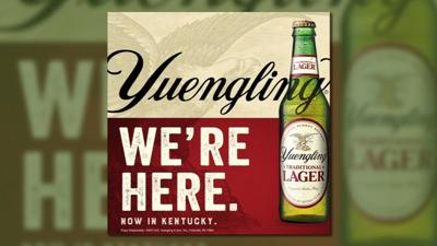 Yuengling draft beer to be available in Kentucky for first time in 169 years