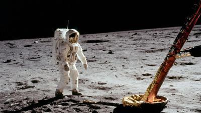 APOLLO 11 Moon landing 1969 - IMAGE COURTESY NASA
