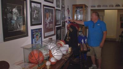 Historic sports collection fills former Louisville high school coach's home