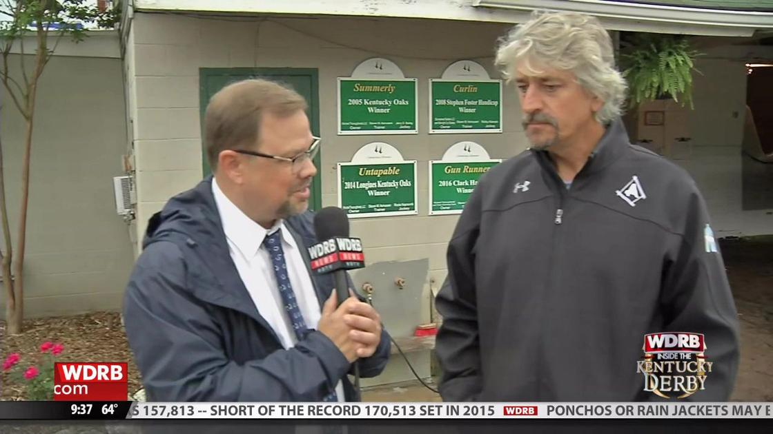 WDRB's Eric Crawford talks with Long Range Toddy trainer