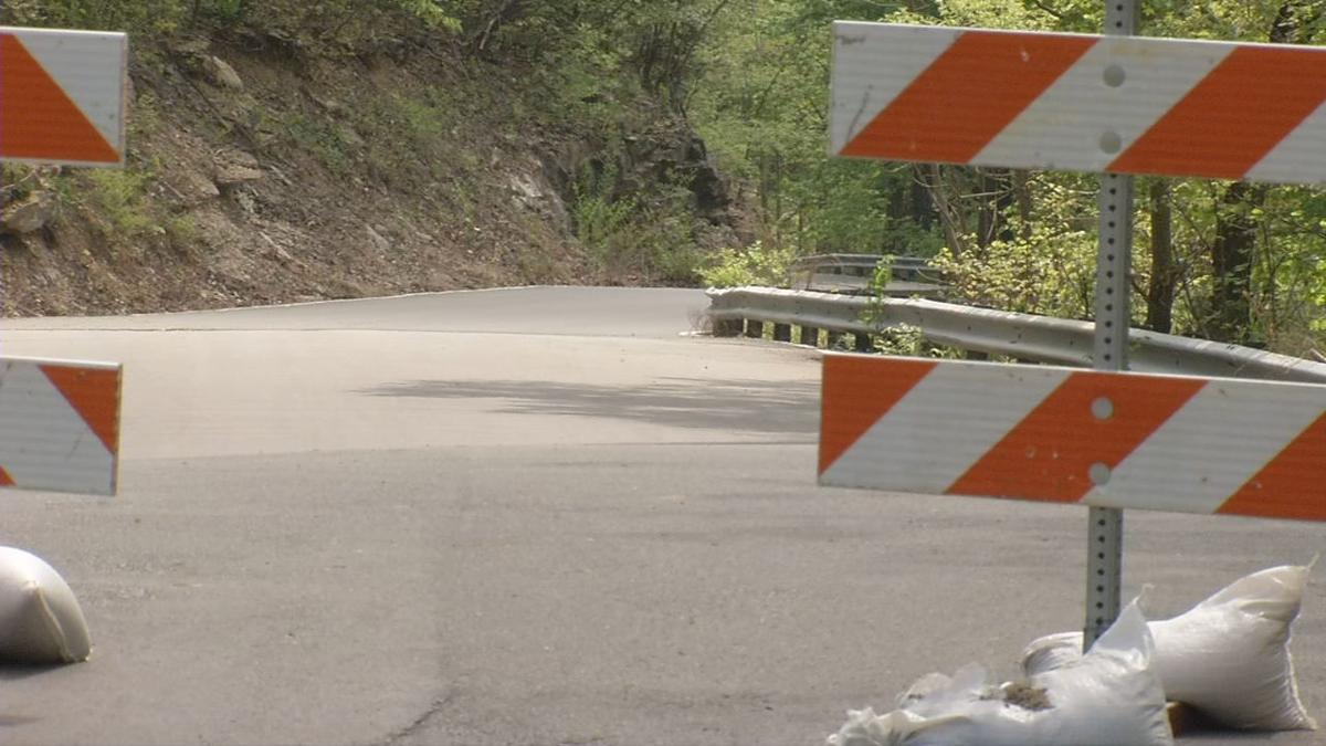 Major cut-through road in southern Indiana likely closed for months due to slide-off