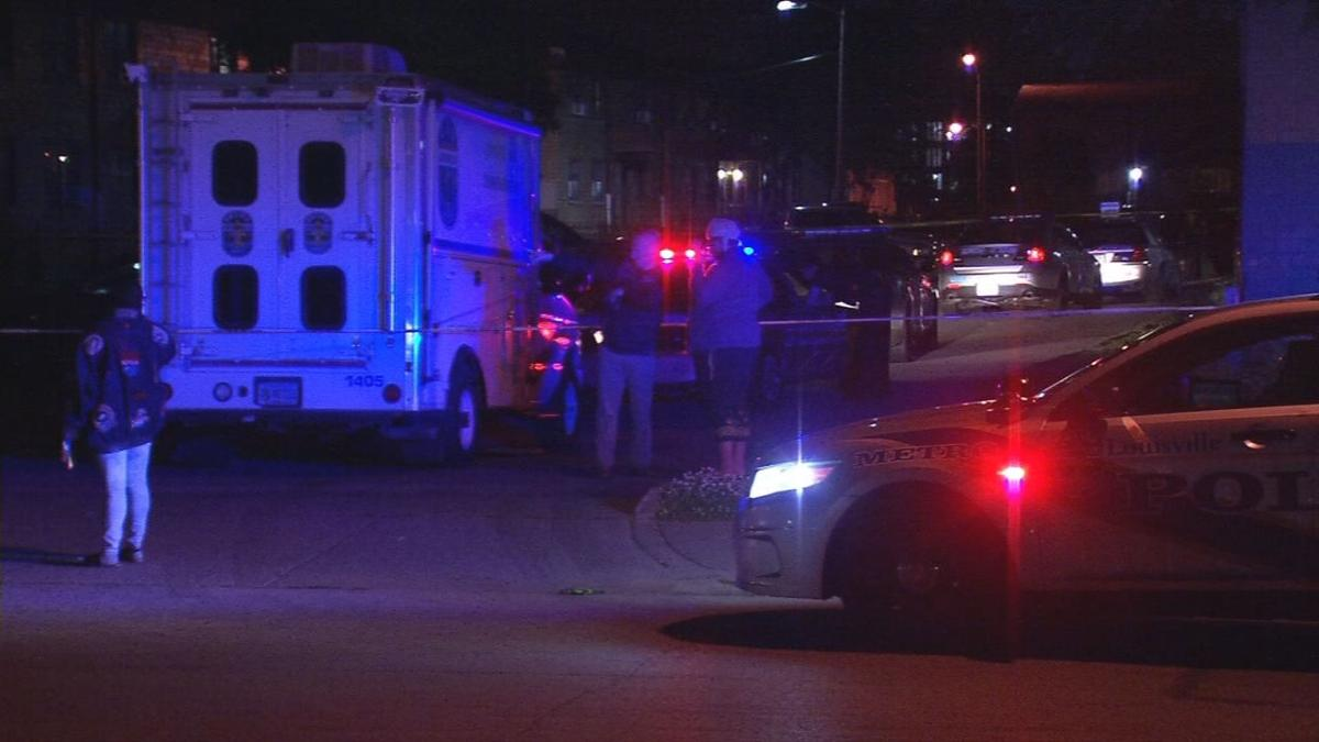 Shooting scene - 8 people shot in Louisville from May 21-22, 2019