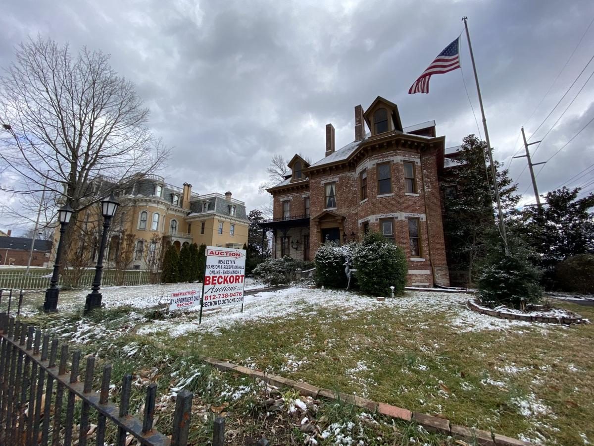 New Albany's historic Samuel Culbertson mansion goes up for auction