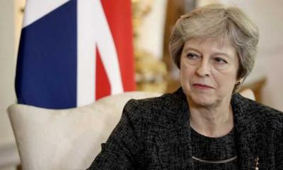 Theresa May ap photo