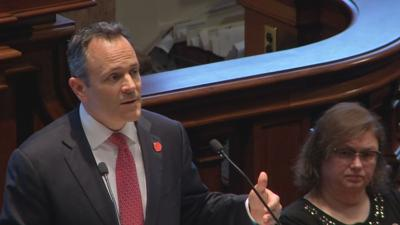 Gov. Bevin uses State of the Commonwealth speech to tout job growth, ask for more in pension fight