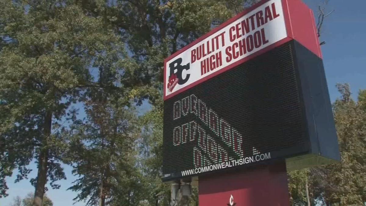 BULLITT CO SCHOOLS sign Bullitt Central High School.jpeg