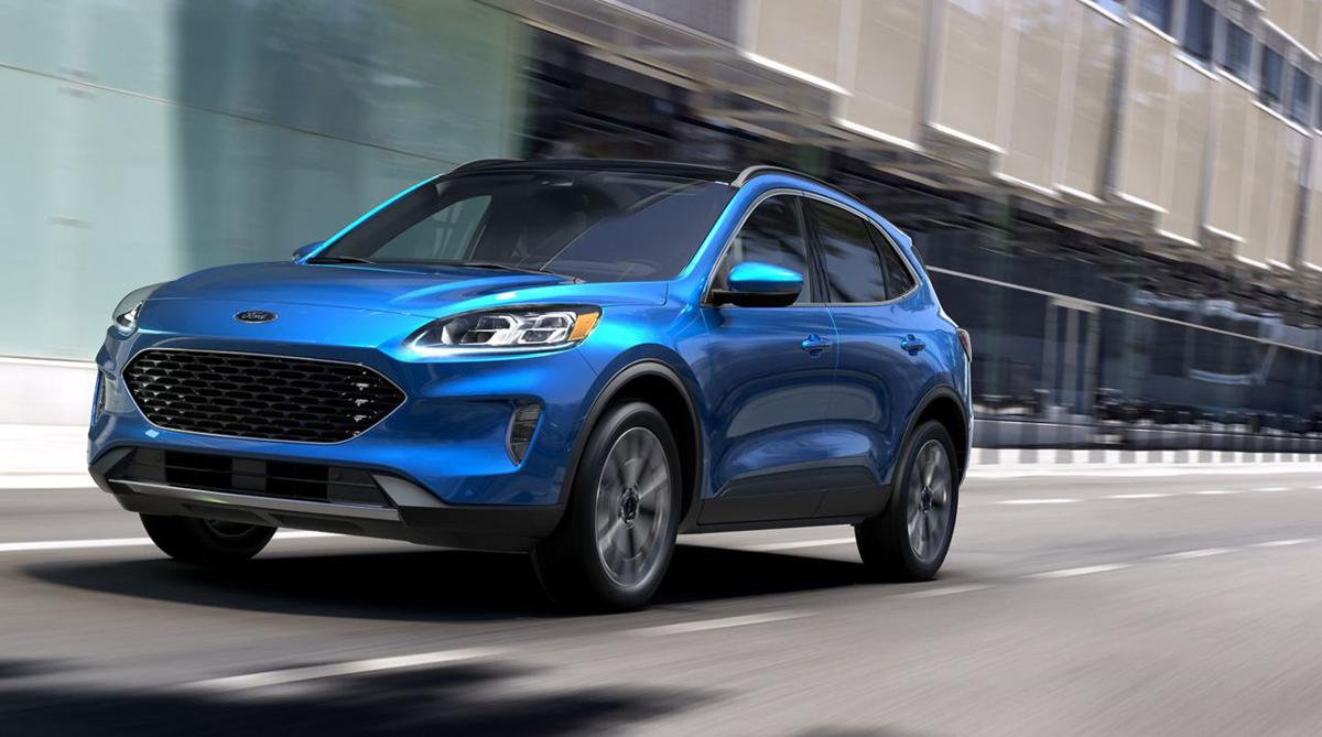2020 Ford Escape (Image courtesy Ford Motor Co.)