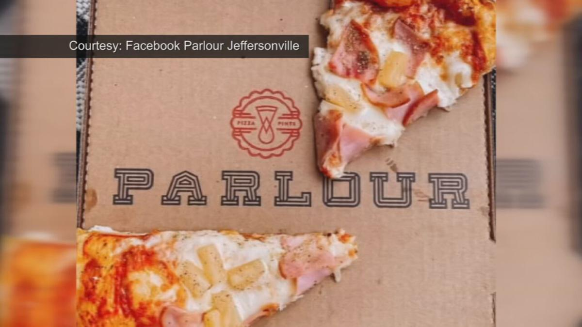 Parlour pizza box
