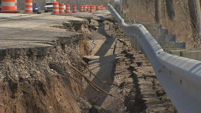 INDOT crews consider moving Highway 111 away from Ohio River