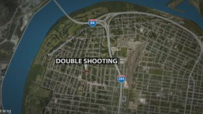 North 40th Double Shooting Map
