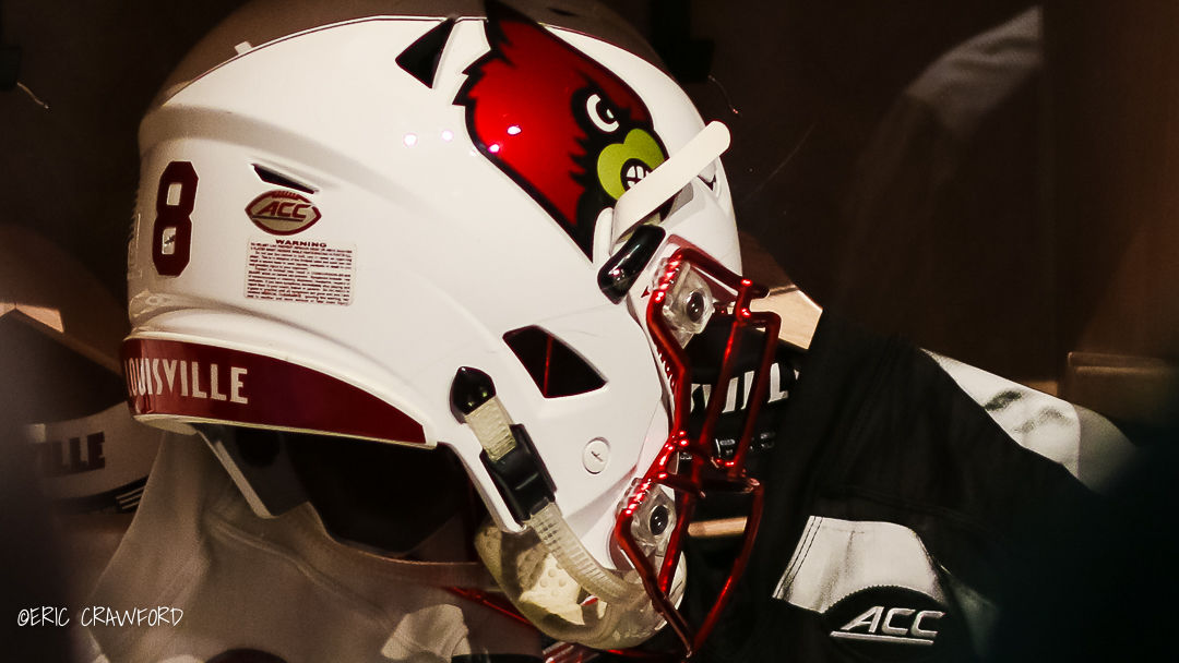 Louisville football locker