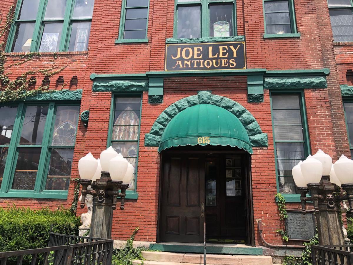 Joe Ley antiques exterior