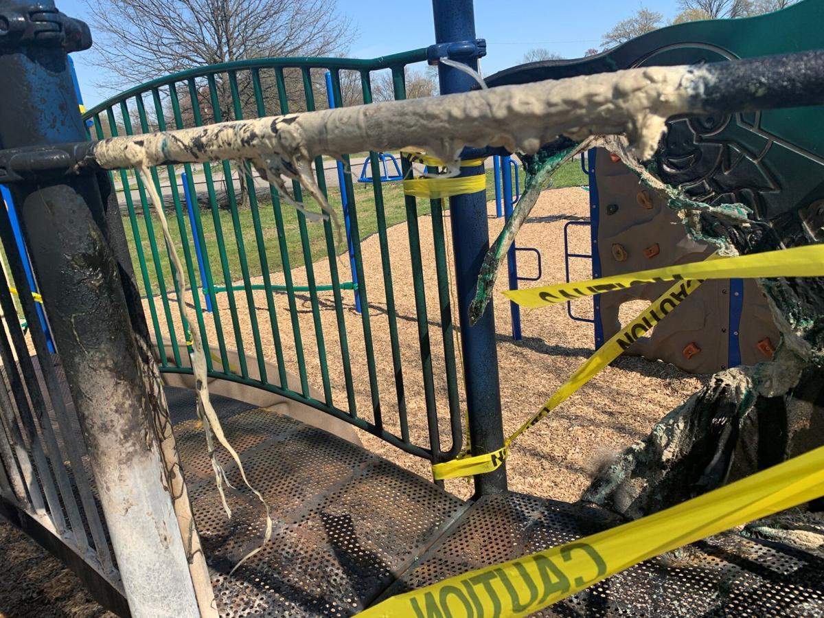 Wyandotte Park vandalism 3.jpg