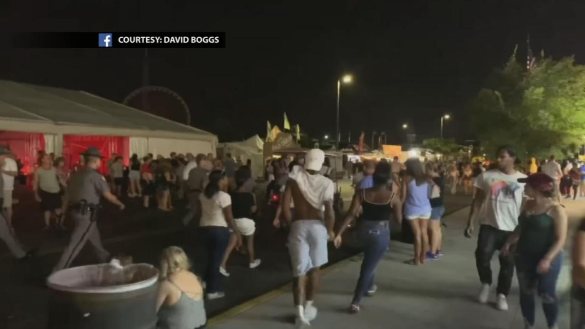 Police arrest 3 in connection with shot fired at Kentucky State Fair Aug. 17