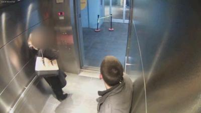 Victim in vicious parking garage attack files suit against owners