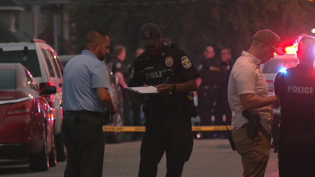 LMPD at Cecil Avenue Shooting - 7-21-20
