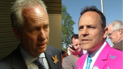 Gov. Bevin and Mayor Fischer react to potential state takeover of JCPS