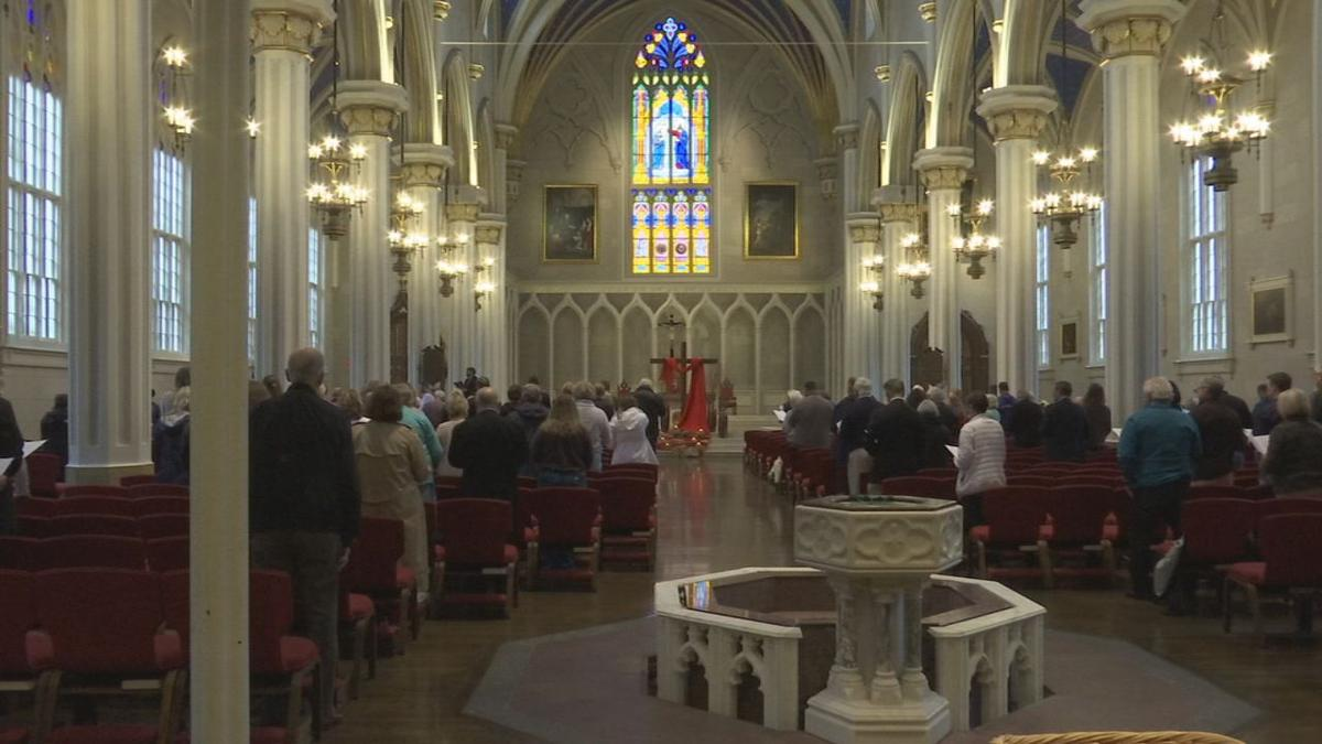 Cathedral of the Assumption - Good Friday service - 4-19-19