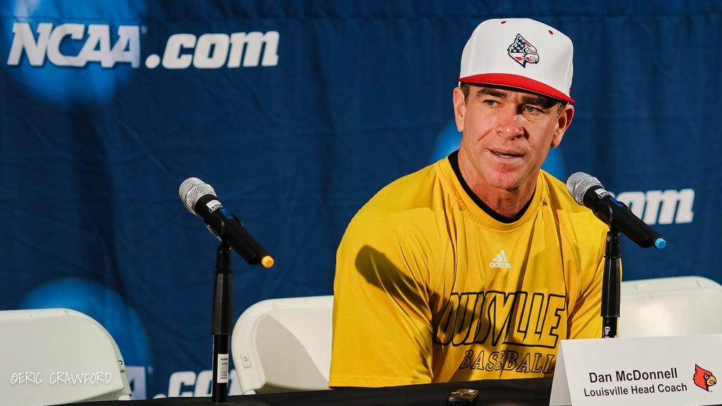 Dan McDonnell Louisville baseball coach