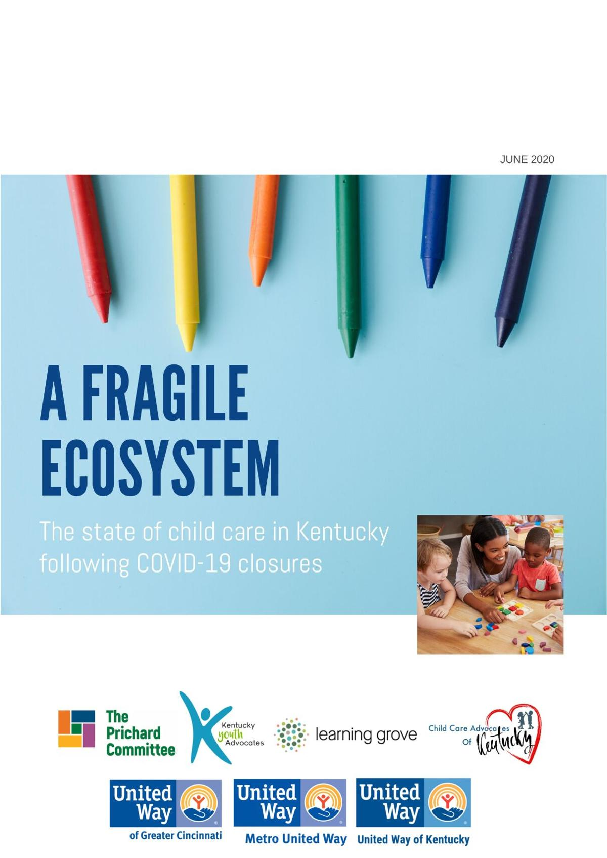 'A Fragile Ecosystem' - Child care report released June 8, 2020