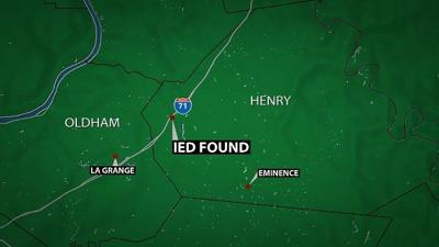 Police searching for suspect after IED left at Henry County gas station