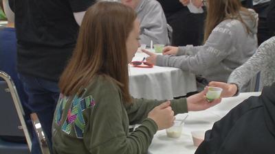 Amazon surprises southern Indiana students with 'Breakfast Bonanza'