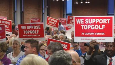 Public hearing hasn't changed neighbors' opinions on Topgolf at Oxmoor Center