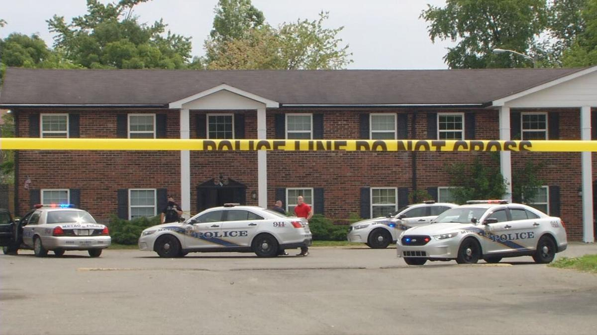 Scene of fatal shooting in the 100 block of Colonial Oaks Court on May 17, 2021