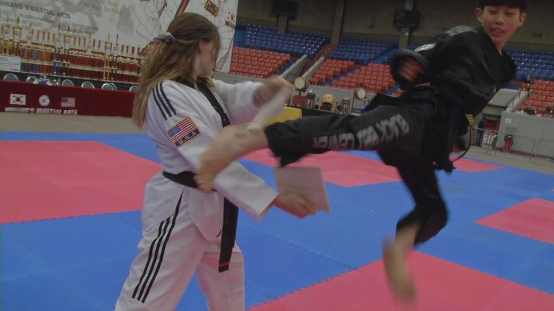 Louisville hosts 33rd Annual Hwang's Martial Arts Taekwondo Championships