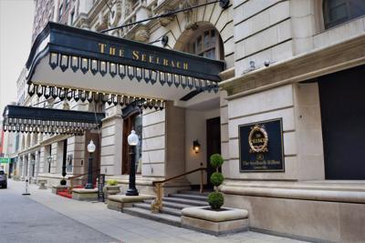 Seelbach Hilton entrance 3-17-21