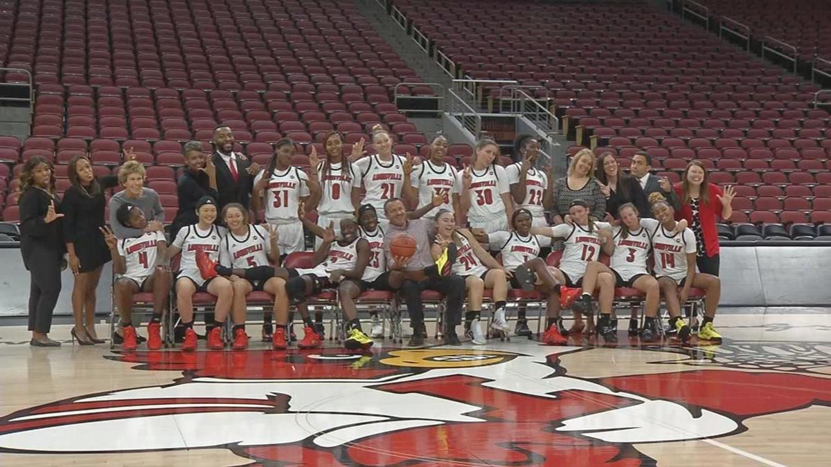 Louisville women's basketball media day
