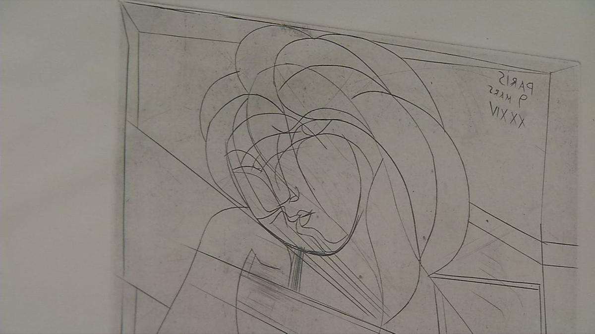 KMAC Picasso exhibit installation 20.jpg
