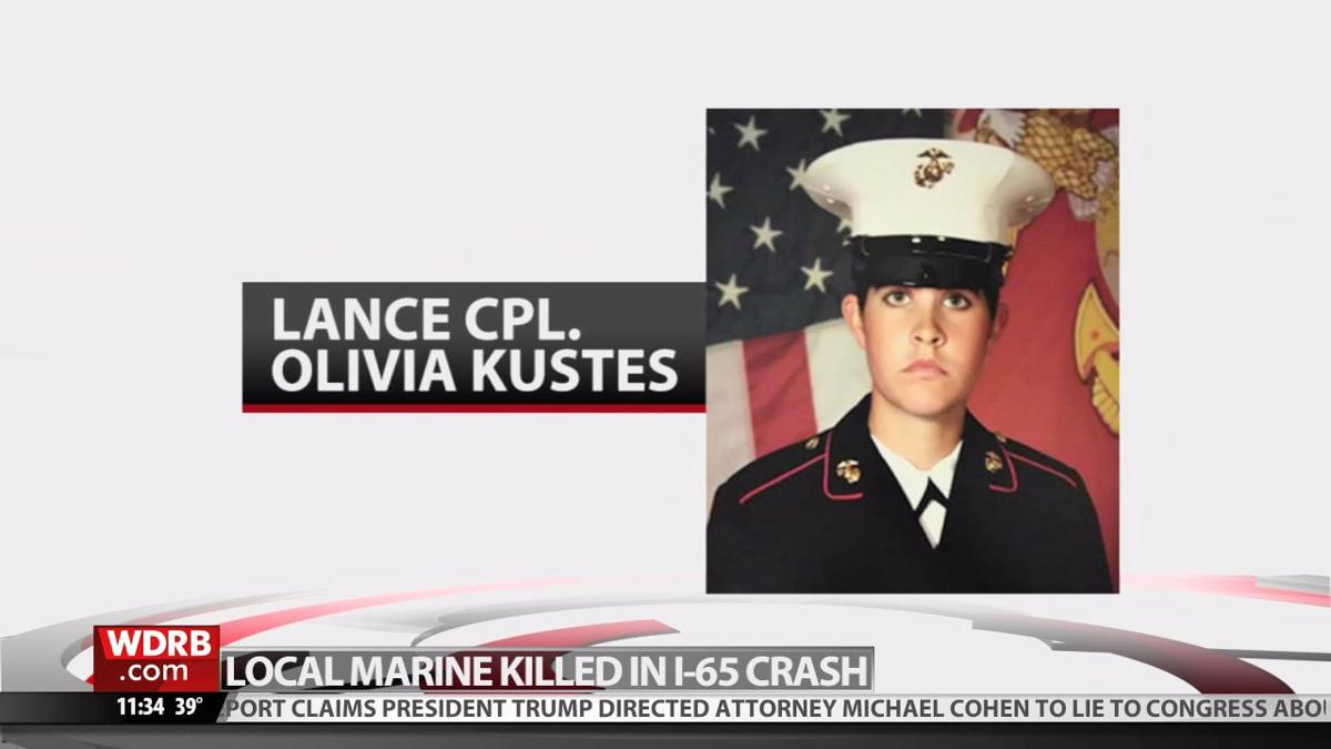 US Marine killed in I-65 crash in southern Indiana