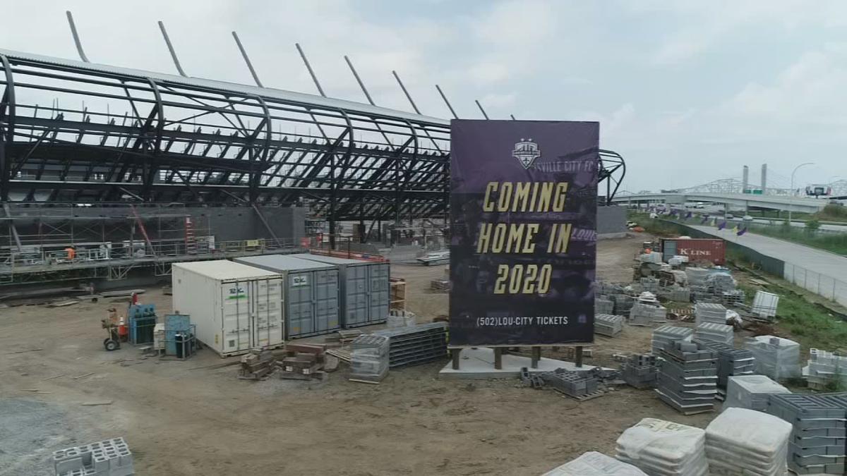 Lou City stadium sign