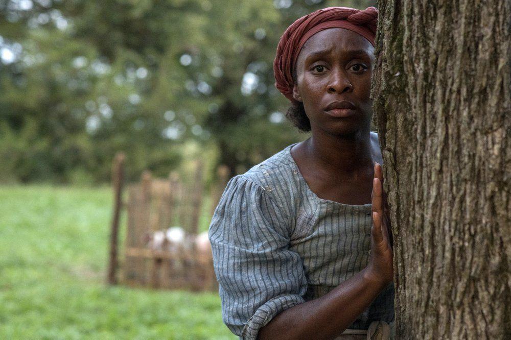 Actress Cynthia Erivo as Harriet Tubman