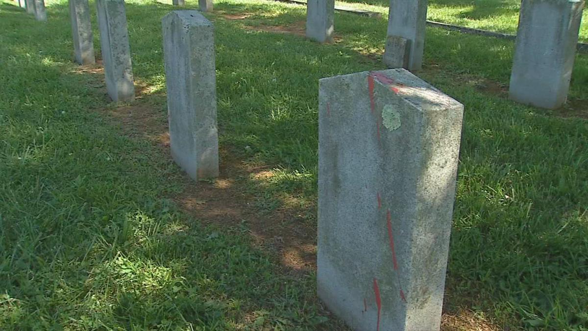 bardstown graves vandalized
