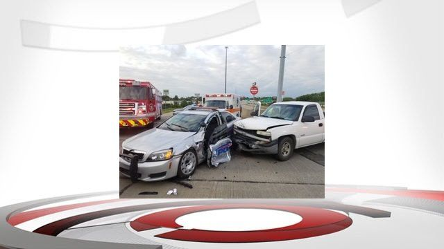 Jeffersonville officer involved crash