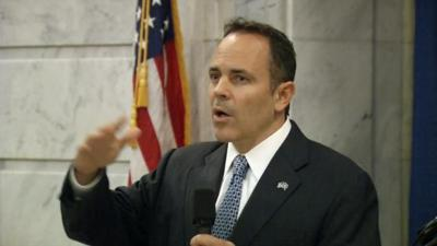 Gov. Bevin's office and KY House Speaker react to allegation of 'threatening' voicemail