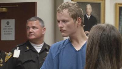 Joseph Cambron in court - WDRB File