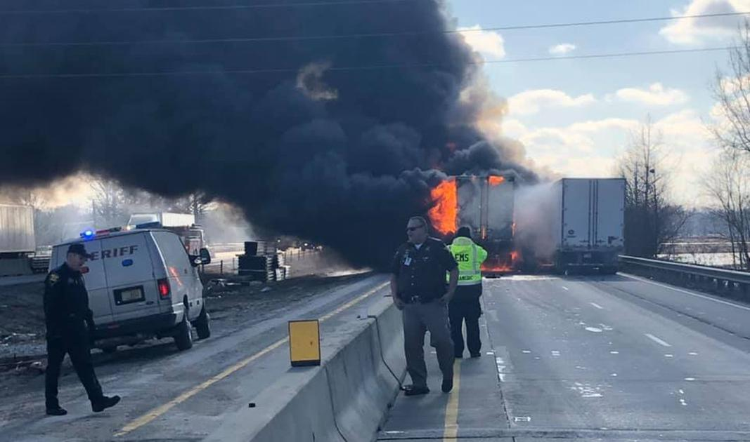 3 people killed in fiery, chain-reaction crash on I-65 in