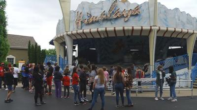 Thousands attended Kentucky Kingdom's opening day 5/8/21