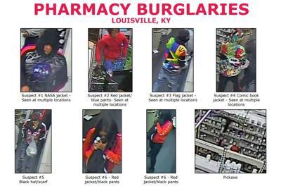 FBI, Walgreens burglary suspects, Sept. 29, 2020
