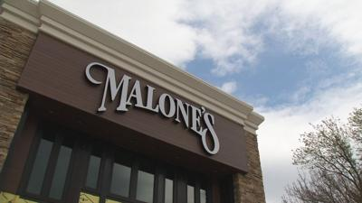 Malone's location at The Paddock Shops in Louisville's East End.